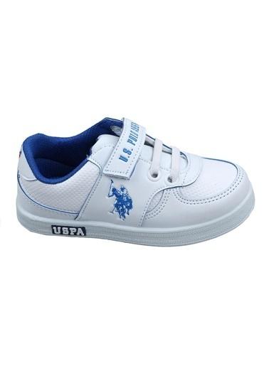 U.S. Polo Assn. U.S. Polo Assn. Beyaz Yürüyüş Ayakkabısı Beyaz